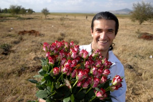 Owner of the first rose farm: Ryaz Shamji